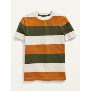 Softest Short-Sleeve Striped Tee for Boys