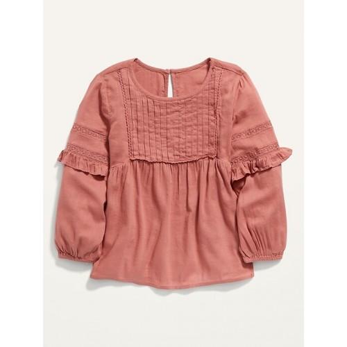 올드네이비 Long-Sleeve Peasant Blouse for Girls