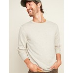 Soft-Washed Crew-Neck Sweater for Men