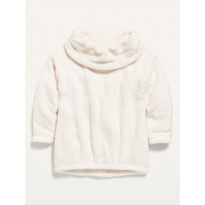 Funnel-Neck Pullover for Toddler Girls