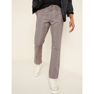 All-New Straight Ultimate Built-In Flex Patterned Chinos for Men