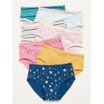 7-Pack Bikini Underwear for Toddler Girls