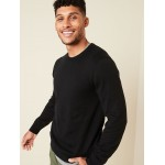 Cotton Crew-Neck Sweater for Men