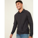Ultra-Soft Breathe ON Long-Sleeve Polo for Men