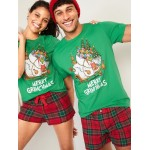 "Dr. Seuss' The Grinch&#153 ""Merry Grinchmas"" Gender-Neutral Tee for Men & Women"