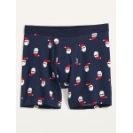 Soft-Washed Printed Boxer Briefs for Men  6-inch inseam