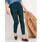 High-Waisted All-New Patterned Pixie Ankle Pants for Women