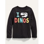 Unisex Graphic Long-Sleeve Tee for Toddler
