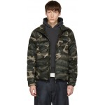 Black 'Black Label' Camo Brookvale Jacket