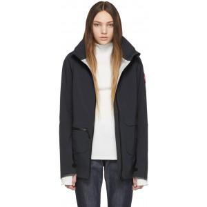 Black Pacifica Raincoat