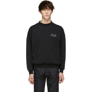 Reversible Black GT Crewneck Sweatshirt