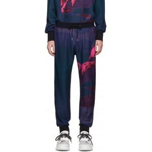 SSENSE Exclusive Multicolor Paul's Photo Flamingo Jogger Lounge Pants