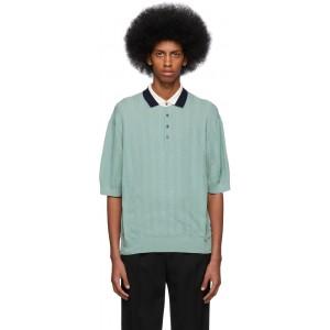 Green Knit Polo