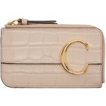 Pink 'Chloe C' Small Card Holder