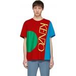 Multicolor 'Square Logo' T-Shirt