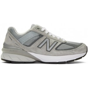 Grey US Made 990 V5 Sneakers