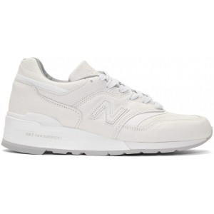 White 997 Sneakers