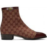 Burgundy Canvas Original GG Boots