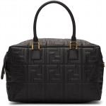 Black Small 'Forever Fendi' Boston Bag