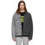 Grey Denim D-Poll Jacket