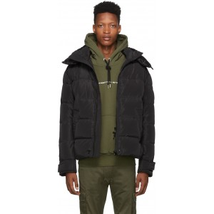 Black Down W-Smith-YA Hooded Jacket