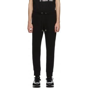 Black P-Tullis Lounge Pants