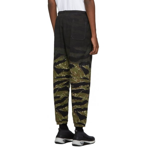 디젤 Green Camo P-Frei-Tigercam Lounge Pants