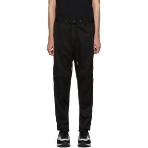 Black P-Cashort Trousers