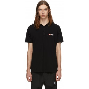 Black T-Weet-Div Polo