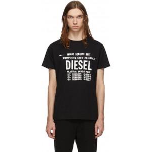 Black T-Diego-B6 T-Shirt