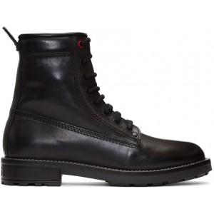 Black Trooper Boots
