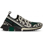 Black DG Mania Sorrento Slip-On Sneakers