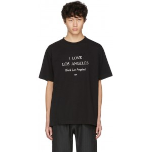 Black 'I Love Los Angeles' T-Shirt