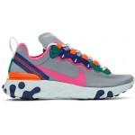 Grey React Element 55 Sneakers