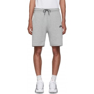 Grey Tech Fleece Shorts