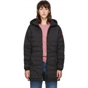 Black Camp Hooded Jacket