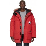 Red Down Expedition Parka