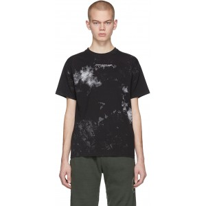 Black & White Painted T-Shirt