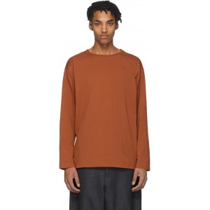 Brown Off -Shore Long Sleeve T-Shirt