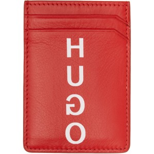 Red Money Clip Card Holder