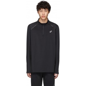 Black Thermopolis Quarter Zip Pullover