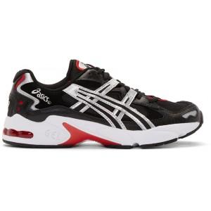 Black & Silver Gel-Kayano 5 OG Sneakers