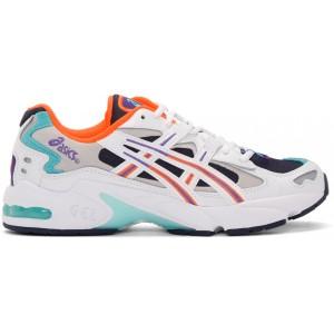 White & Navy Gel-Kayano 5 OG Sneakers