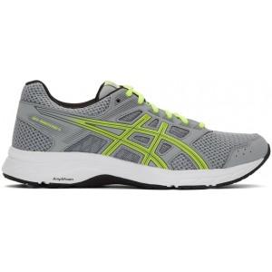 Grey & Green Gel-Contend 5 Sneakers