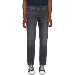 Grey 501 Slim Taper Jeans