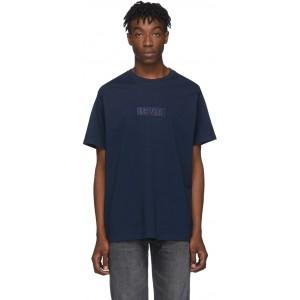 Navy Relaxed Logo T-Shirt