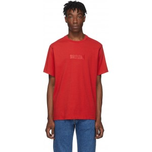 Red Relaxed Logo T-Shirt