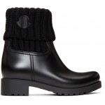 Black Ginette Boots