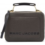 Taupe 'The Textured Mini Box' Bag