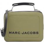 Green 'The Textured Mini Box' Bag